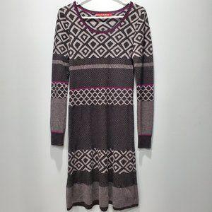 Krimson Klover Wool Sweater Dress Size Small P075